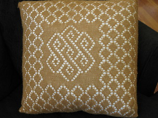 Lace pillow | by haldechick