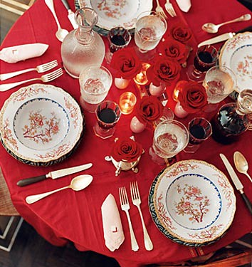 Marvelous Red Table Setting Ideas Images - Best inspiration home . & Marvelous Red Table Setting Ideas Images - Best inspiration home ...