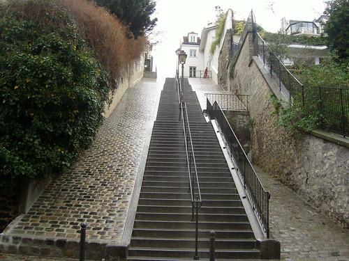 les escaliers de la butte montmartre samsung digita flickr