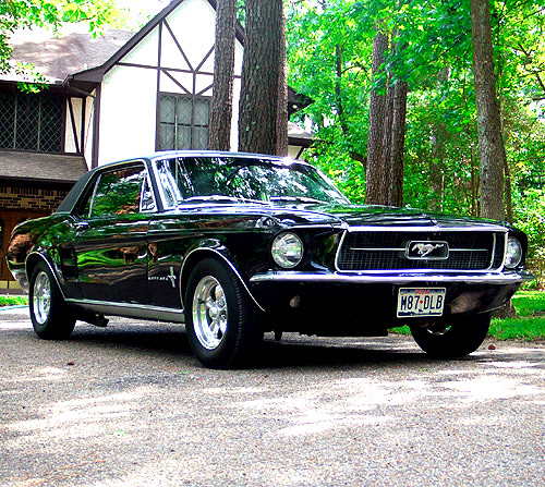 1967 ford mustang coupe by budcaddell