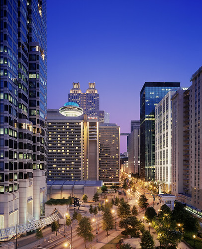 Image Result For Map Of Downtown Atlanta Hotels