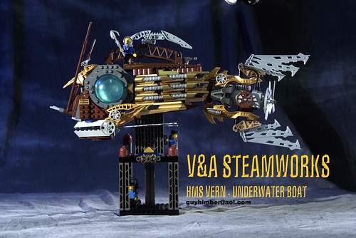 HMS VERN Underwater Boat by V&A Steamworks | by V&A Steamworks - Guy HImber