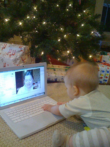 video chatting with grandma | by Kirsten W