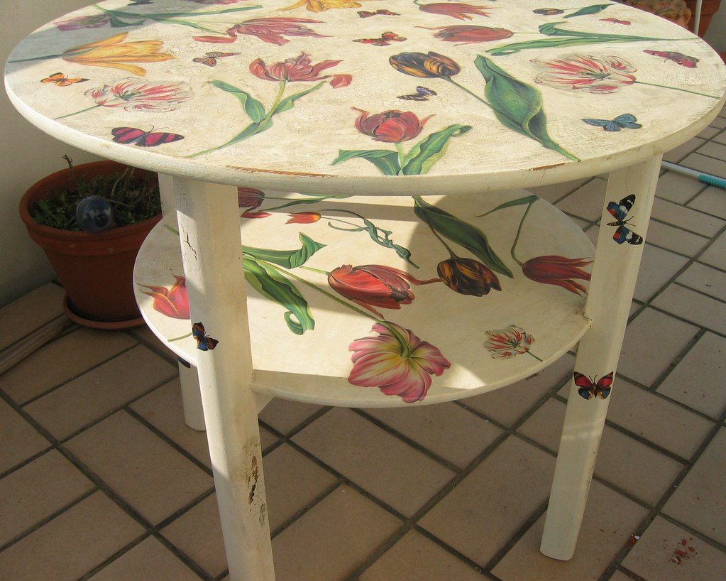 Gentil Decoupage Furniture | By Swamp Dragon Decoupage Furniture | By Swamp Dragon