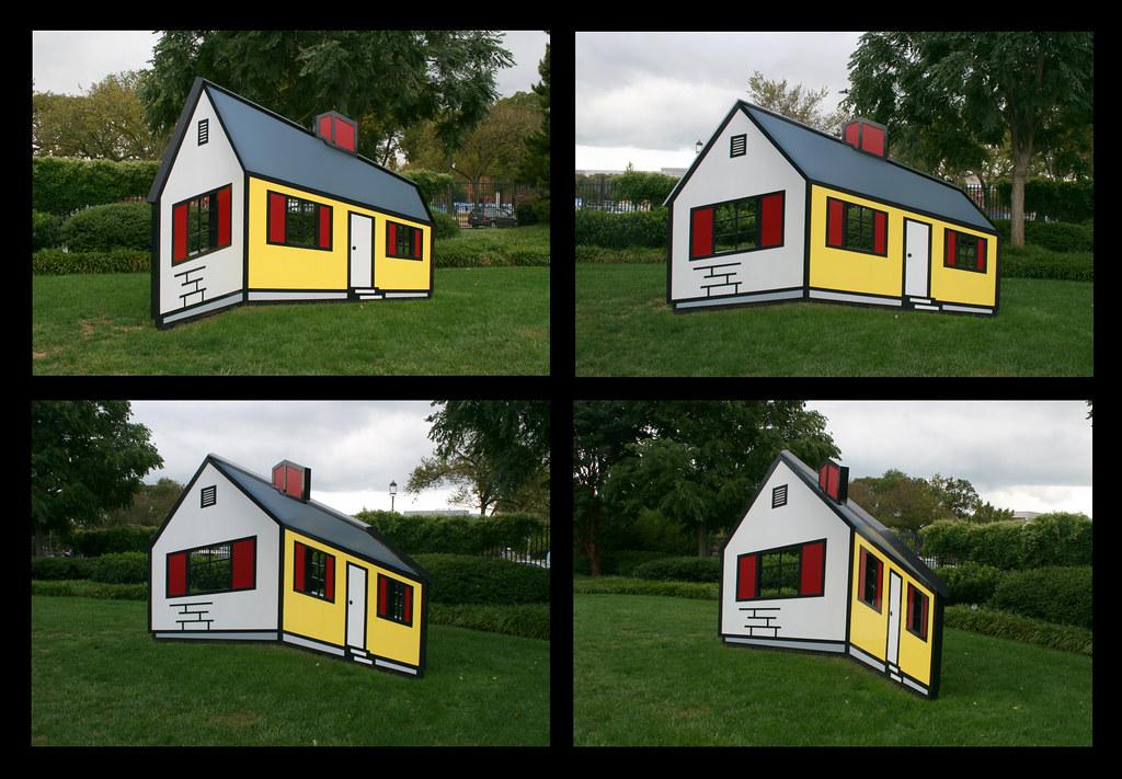 Lichtenstein House 1 | Roy Lichtenstein House I, 1996/1998 N… | Flickr