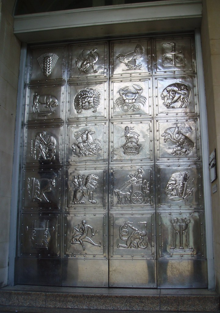 ... Stainless Steel Relief Doors NatWest Bank Broadgate Coventry | by Aidan McRae Thomson & Stainless Steel Relief Doors NatWest Bank Broadgate Covu2026 | Flickr