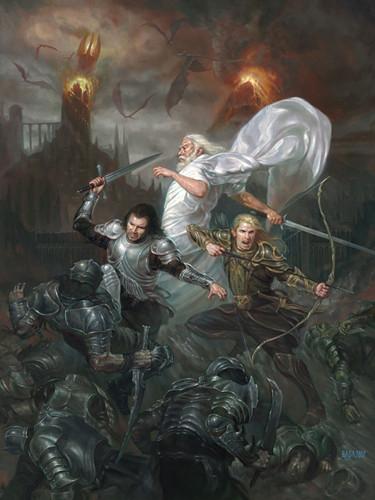 Sauron S Fall By Volkan Baga Artwork By Volkan Baga