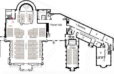 Ground floor plan st mary 39 s cathedral memphis click for Memphis plan