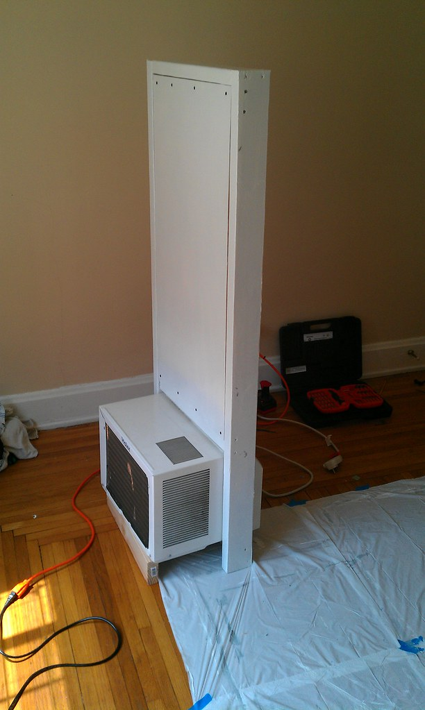 Sliding Window Air Conditioner Frame - Outer Side | Nathan p… | Flickr