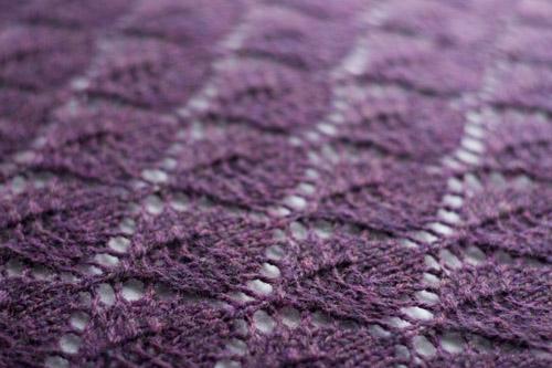 Lace Leaf | Pattern: Lace Leaf Shawl by Evelyn A. Clark Yarn… | Flickr