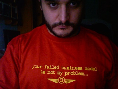 Your failed business model is not my problem | by archenemy