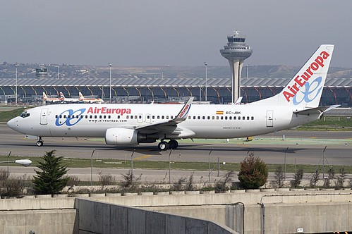 Air Europa B737-800 EC-JBK | by albspotter