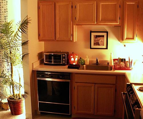 Chicago high rise studio apartment kitchen chicago for Efficiency apartment kitchen