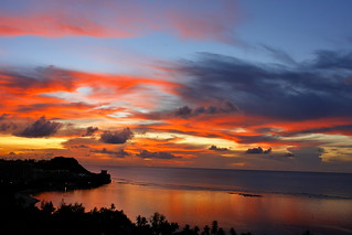 Sunset of Guam | by smallchih