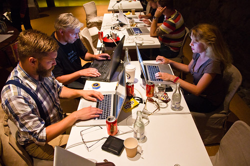 Hack4Europe Stockholm 2011 | by inUse Experience