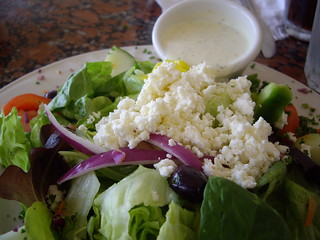Micro Salad from The Big Fat Greek Kuzina | by swampkitty