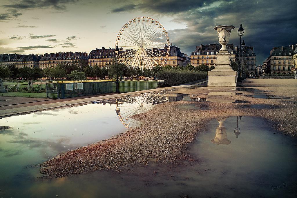 Jardin des Tuileries - Paris | Best viewed large on black. S… | Flickr