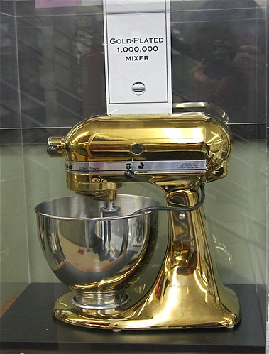1 000 000 Gold Plated Kitchenaid Mixer Quot Greenville Is