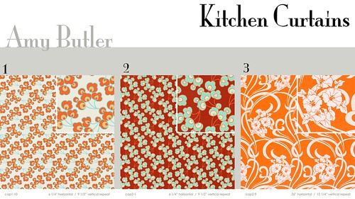... Fabric Ideas: Kitchen Curtains | By Sparklerawk