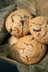 Flourless Peanut butter & Chocolate Cookies | by Le Petrin