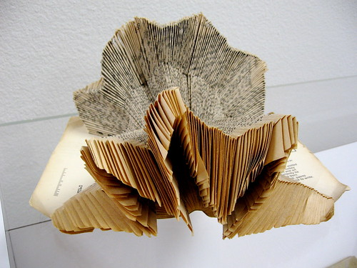 Folded Book Art by Piper Dorrance | by Kimbrough Library