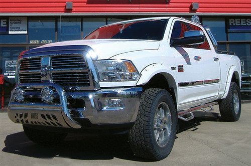 2011 Dodge Ram 2500 | Aries Bull Nar N-Fab Side Steps Stampe… | Flickr