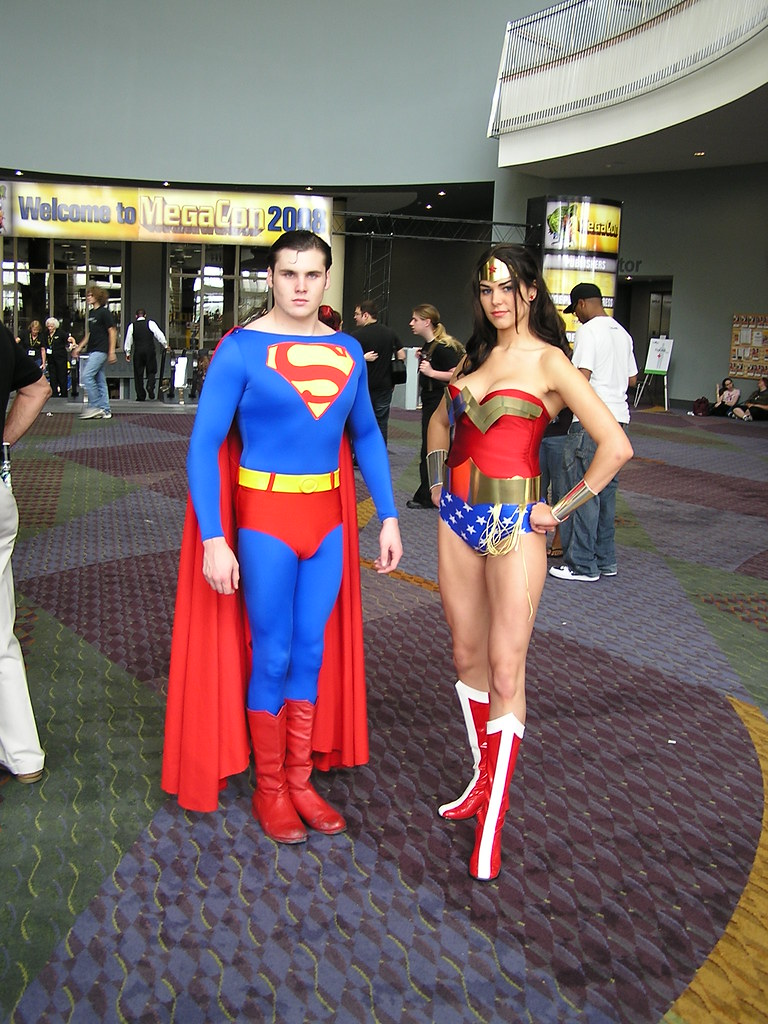 ... Superman and Wonder Woman | by samaritanx  sc 1 st  Flickr & Superman and Wonder Woman | Great costumes! | Mark | Flickr