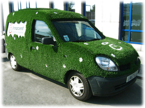 a real green car | by viZZZual.com