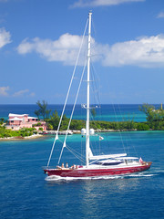 Sailboat in the Bahamas | by markeloper photography