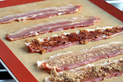 prebaked candied bacon | by David Lebovitz
