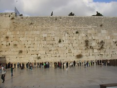 Men's side of Western Wall Jerusalem | by amanderson2