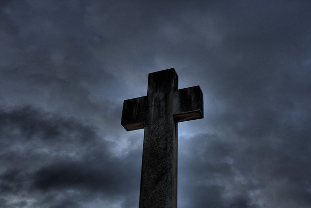 Cemetery Cross HDR