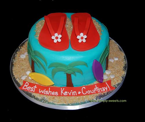 Flip Flop Cake Pan