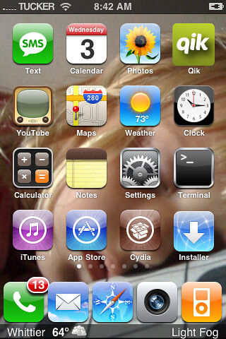 weather icons on iphone iphone weather theme w 5 icon dock no label dock 1216