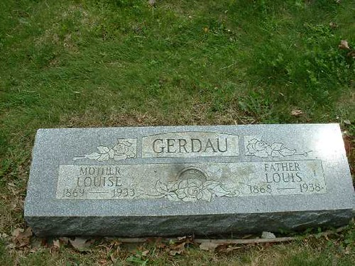 Louise and Louis Gerdau | by Barrington Area Library Local History