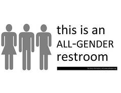 All-Gender Restroom Sign | by samirluther