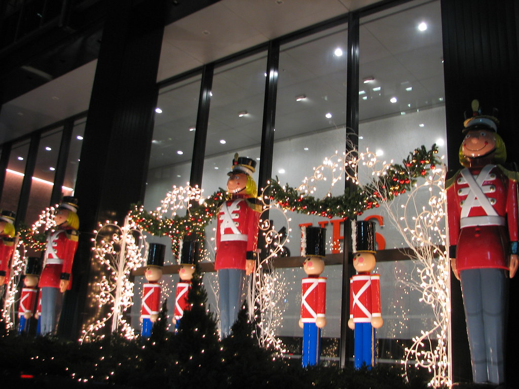 toy soldiers christmas decorations new york city ny 6 by glazaro
