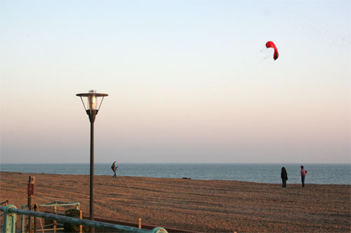 Kite over Kemptown Beach, Brighton | by moluki