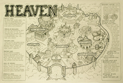 map of heaven | by Charlie Gower
