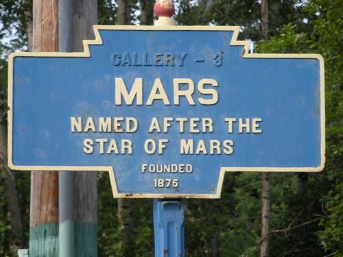 Gift I Mars Pennsylvania