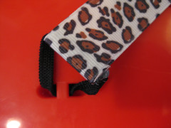 cheetah guitar strap | by colorkitten