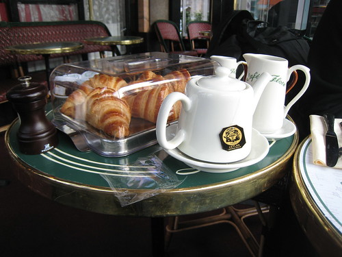 breakfast at Café de Flore | by yuko 'n sherlock