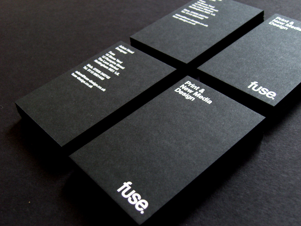 Fuse Business Cards | Our great new cards on GF Smith, Color… | Flickr