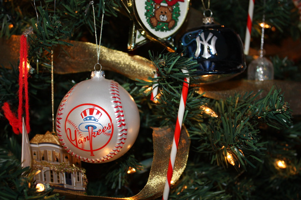 ... NY Yankees: Christmas Ornament | by skyliner72 - NY Yankees: Christmas Ornament Christmas 2008 Danny McKiernan