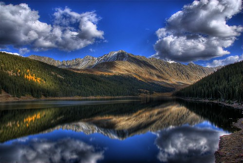 Clinton Creek Lake, Colorado | by Thad Roan - Bridgepix