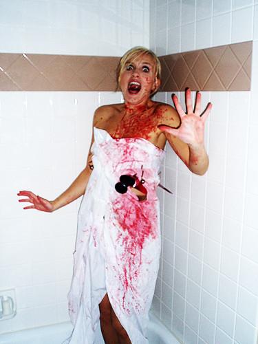 Psycho Killer   by daisy_princess Psycho Killer   by daisy_princess  sc 1 st  Flickr & Psycho Killer   Ali as Janet Leigh in the Psycho shower scenu2026   Flickr