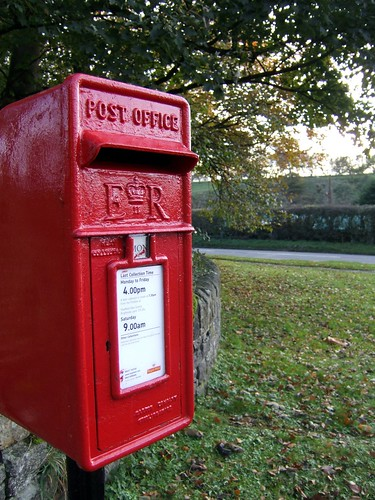 Post Box at Hope Station | by spratmackrel