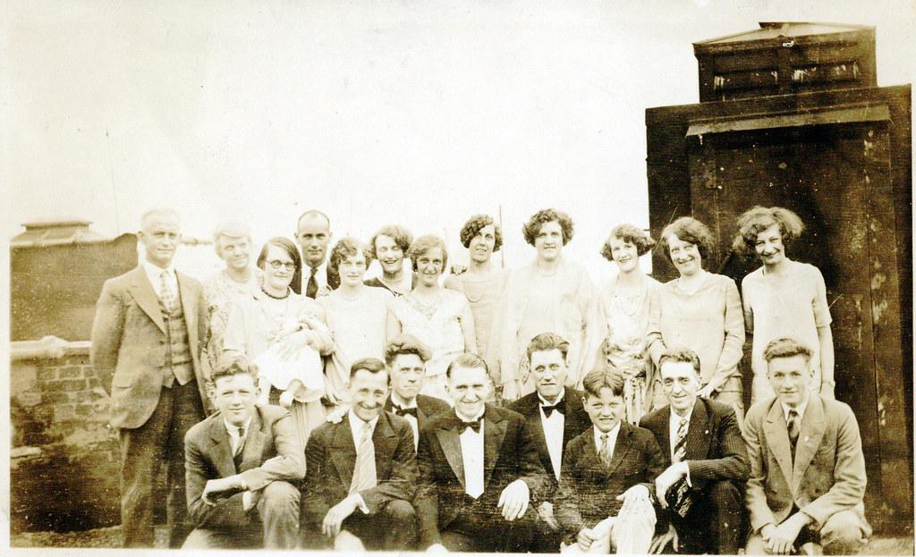 Wedding Of Theodore Roosevelt Lattin 1901 1980 And Berth Flickr
