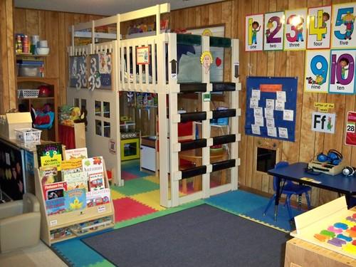 Classroom Loft Ideas ~ Reading loft mikehughes flickr