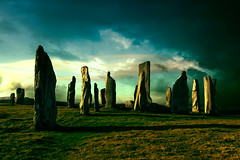 stonecircle standing stones at Lewis | by M.Jacob